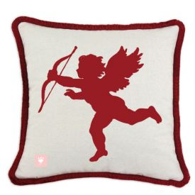 Valentines Day Cupid Pillow