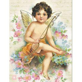 Vintage Shabby Chic Cupid, Valentine