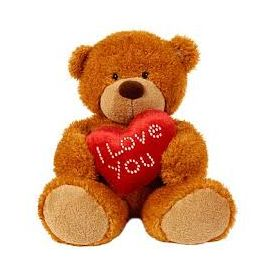 Cute Teddy bear little heart