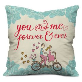 Valentine Gifts for  Cushion   Pillow White