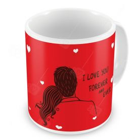 Valentine Gifts for Ceramic Mug Red