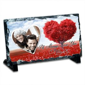 LOVE YOU FOREVER PERSONALISED GRANITE STONE