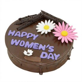 Womens Day Rich Chocolate Cake (1 kg)