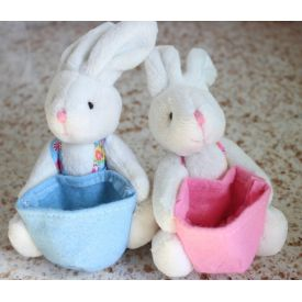 coelho dom 6 pieces/iot stuffed animal bunny Easter