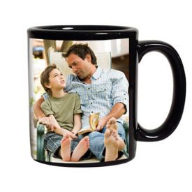 Black Personalized Coffee Mug