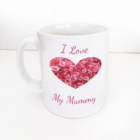 Superstar I Love Mum Mug