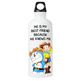 He Is My Best Friend Sipper bottle