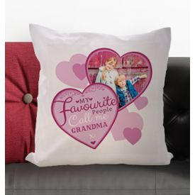 Personalised Cushion - My Favourite People Call Me Grandma