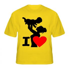 I love u Mom T-shirt