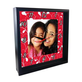 Magic Of Mom's Love Personalized Wooden Clock