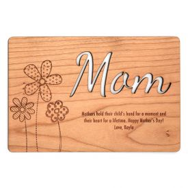 Mom In Million Special wooden board