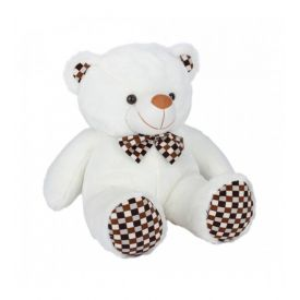 Ultra Polka Teddy Soft Toy 24 Inches- White