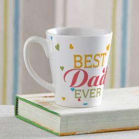 Best Dad ever white Mug