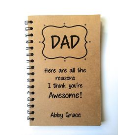 Awesome Dad personalized Notebook