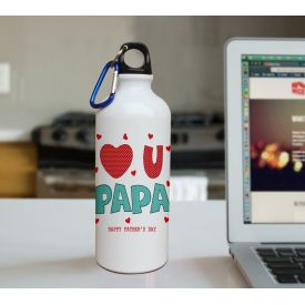 I Love You Papa Printed sipper 600 ml