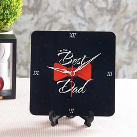 Best Dad Table Clock