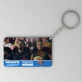 Whats Up Personalized House Warming Keychain