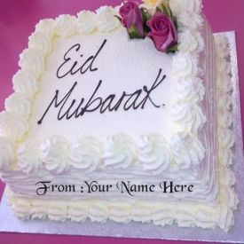 Happy Eid Vanilla cake