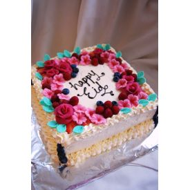 Happy Eid Pineapple cake