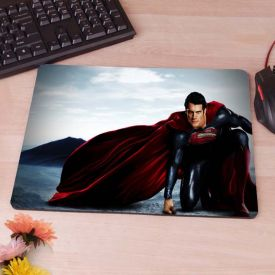 superman is my hero mouse pad