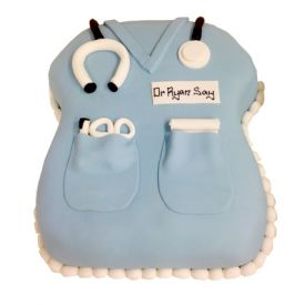 doctor day cake