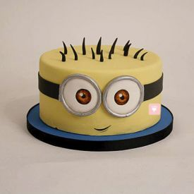 2Kg Minion Cartoon Cake