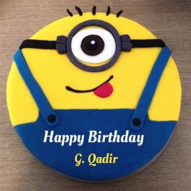 Cake Yellow Minion