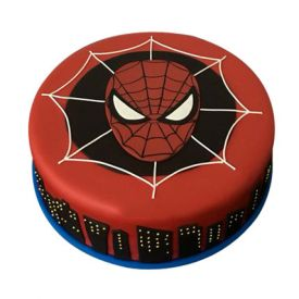 Superb Spiderman Cake