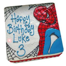 Cool SpiderMan Cake