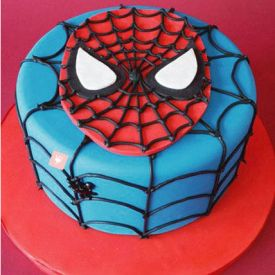 2 KG Spiderman Cake
