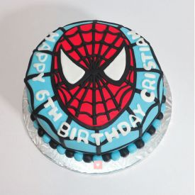Spiderman Special Cake