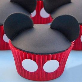 Mickey Mouse Mania Cup Cake