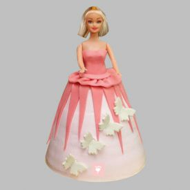 Gorgeous Barbie Cake