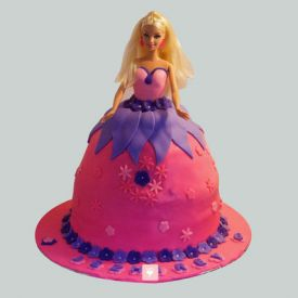 Royal Barbie Cake
