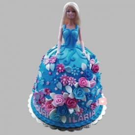 Heavenly Barbie Cake