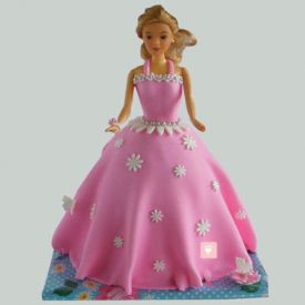 Just Wow Barbie Cake
