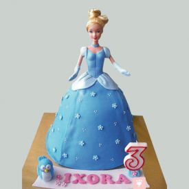 Barbie Cake Blue