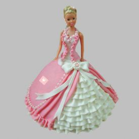 Queen Barbie Cake