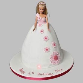 Pristine Barbie Cake