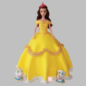 Sunshine Barbie Cake