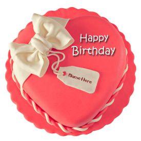 Heart Birthday Cake 1 kg