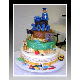 Teacher?s day Multi-Tier cake