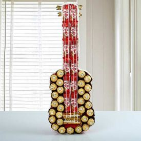 Mixed Chocolate Guitar