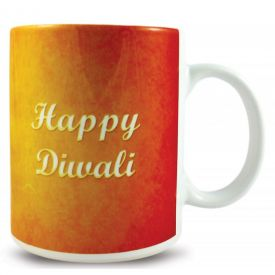 Red Diwali Mug