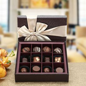 Handmade chocolate gift hamper