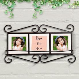 personalizes photo frame