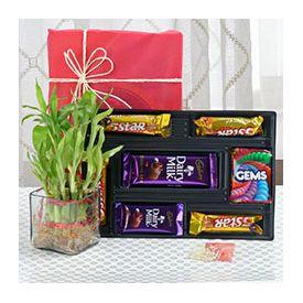 bhaidooj combo gifts hamper