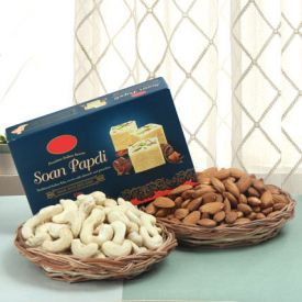 Soan Papdi With Dry Fruits Combo