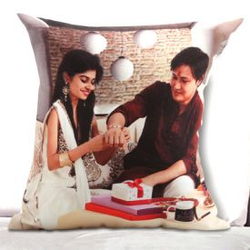 Squre Shape Personalized Cushion