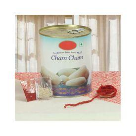 Cham Cham 1 Kg  With  Roli Chawal